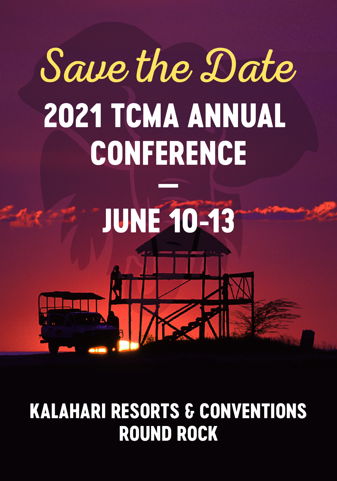 2021 Annual Conference save the date